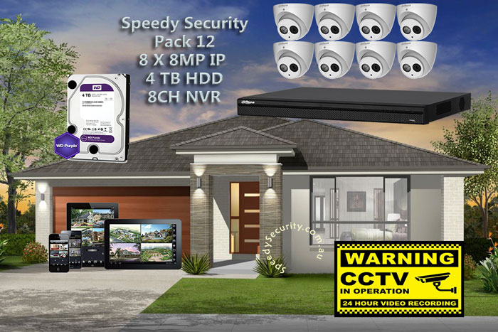 Speedy Security CCTV Packages