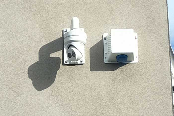 Dahua 4MP camera speedy security